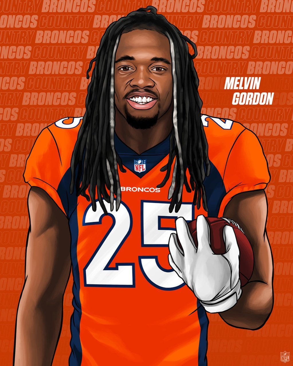 Staying in the AFC West.  Gordon  ...