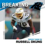 TRADE! Chargers trading LT Russell Okung to Panthers in exchange for OL Trai Tur...