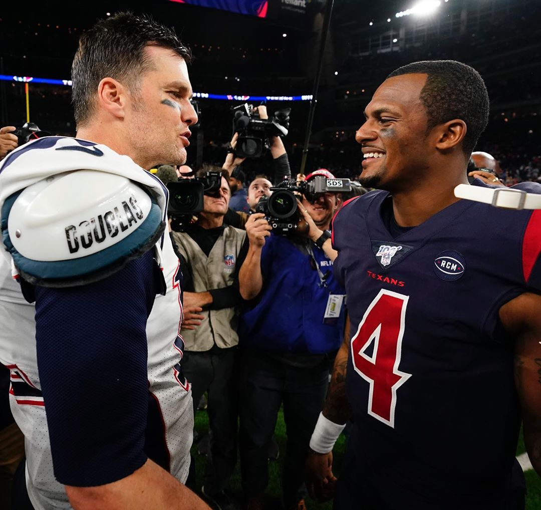 """""""That's the GOAT. Before he hangs it up, I had to at least get one."""" -Deshaun Wa..."""