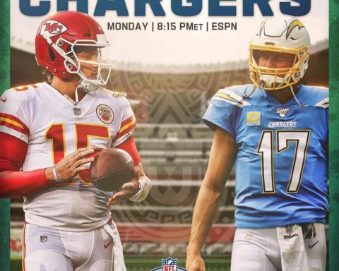 The AFC West rivalry heads down to Mexico City!   - :  - TONIGHT 8:15pm ET on  :...