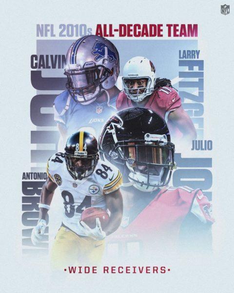 The NFL's 2010s All-Decade Team WRs!...