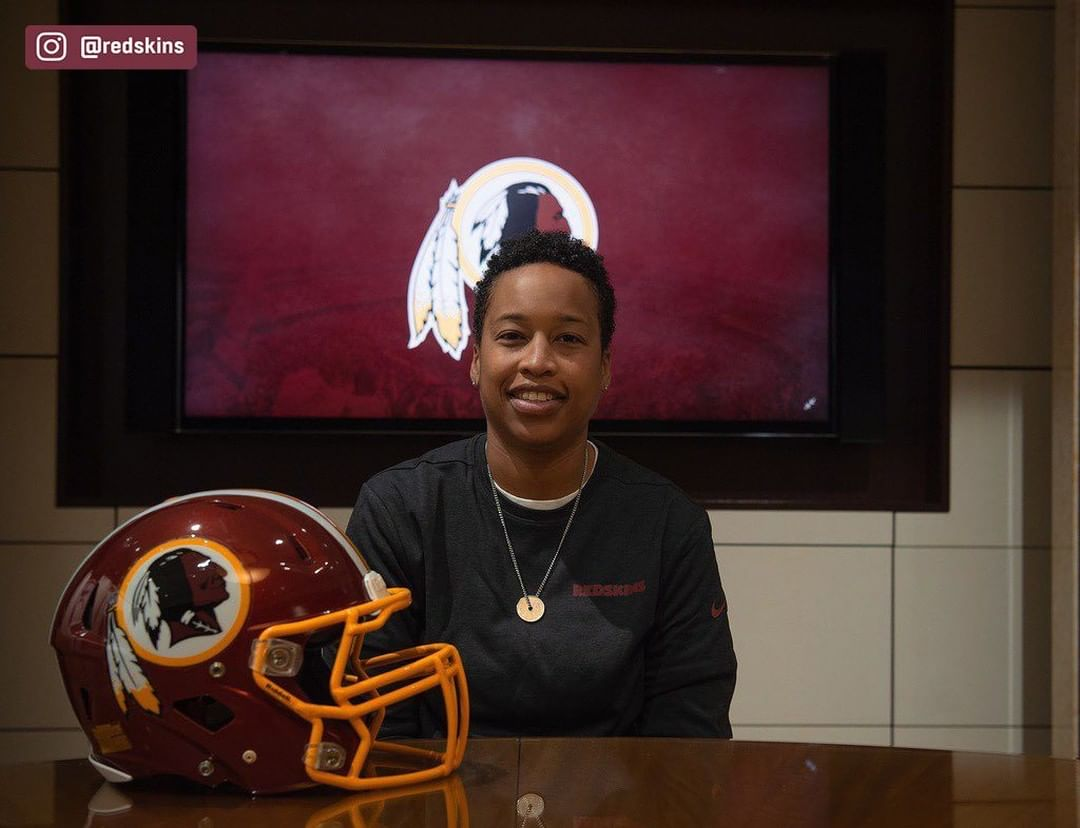 The Redskins have named Jennifer King as a full-year coaching intern. King is th...