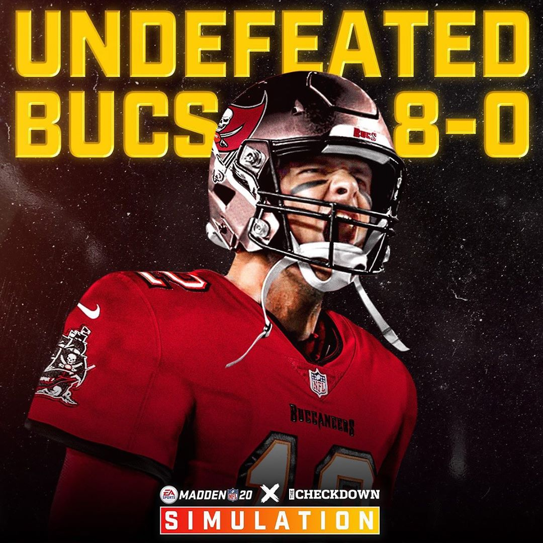 The  are undefeated at the halfway point of  x  2020 season simulation ...
