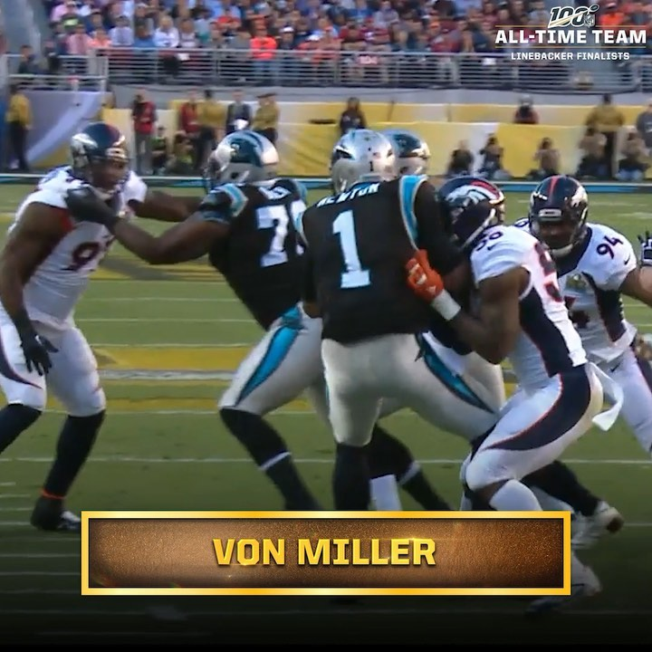 The last defensive player to be named the Super Bowl MVP,  Will he be named to t...