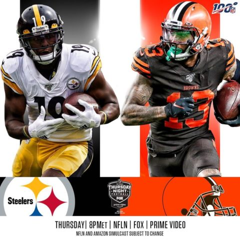 The rivalry resumes on Thursday Night Football!  :  — TOMORROW 8pm ET on  |  |...