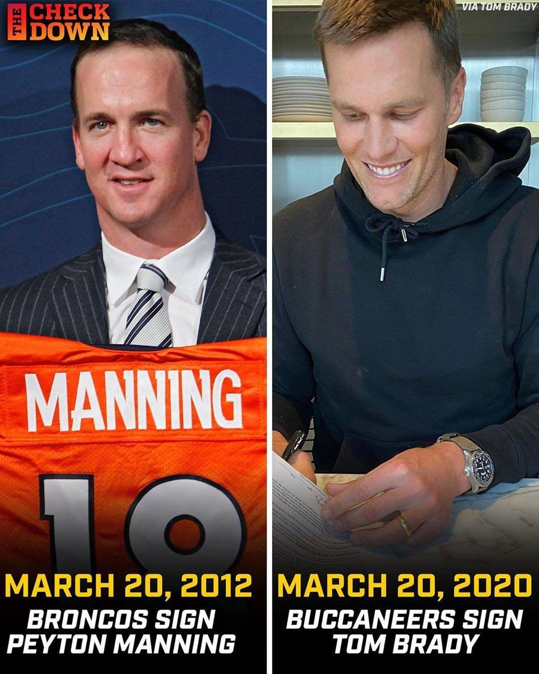 There's something about legends signing on March 20th  (via ...