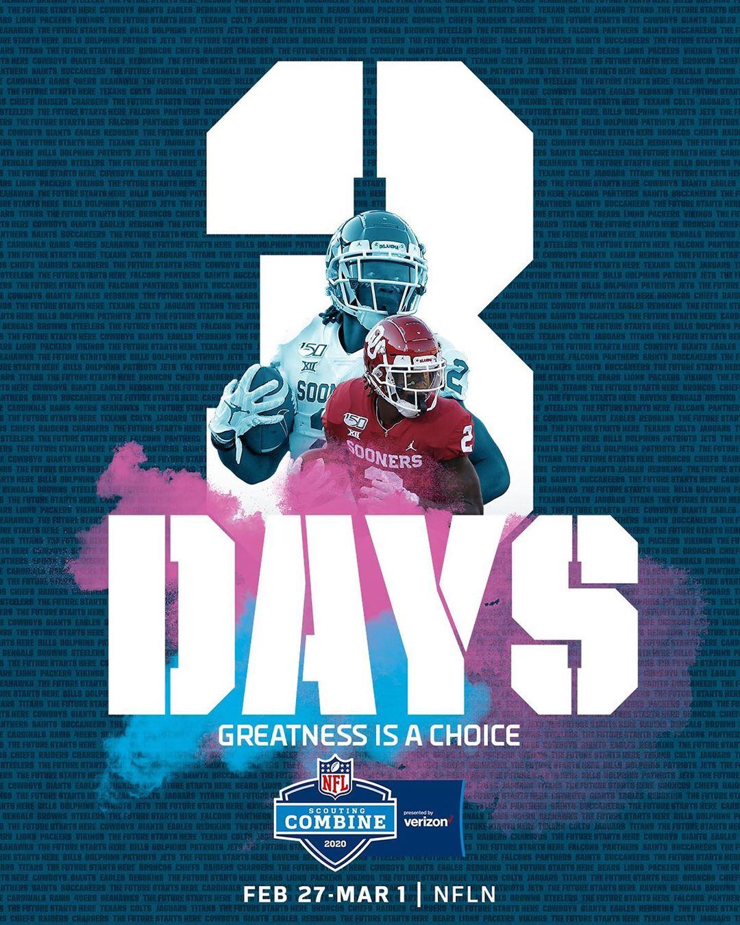 Three days  NFL Combine in primetime. - : 2020  starts Thursday 4pm ET on ...