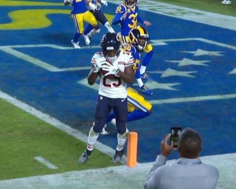 Trubisky drops a beauty to   - :  on NBC : NFL app // Yahoo Sports app...