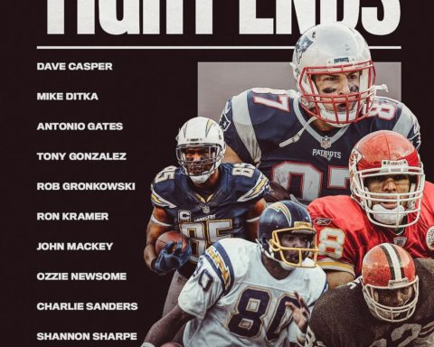Twelve finalists at tight end! Which five will make the  All-Time Team? - : NFL ...