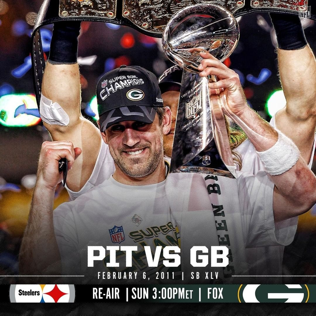 Two powerhouse franchises. Rodgers. Roethlisberger. A Super Bowl classic. : SB X...