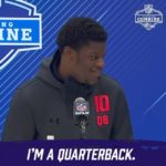 When Lamar said it at the Combine, he meant it. (via ...