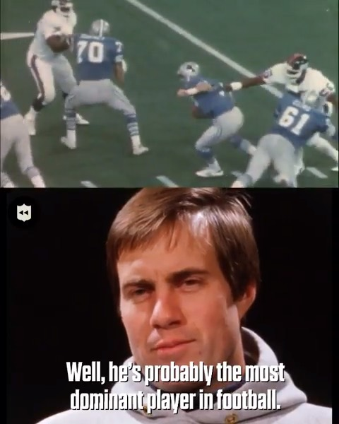 Young Belichick on Lawrence Taylor back in 1984. (via  ...