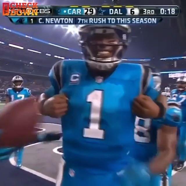 changed the celebration game in Carolina  (via ...