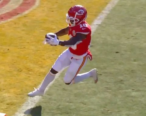 speed  - :  on CBS : NFL app // Yahoo Sports app...