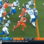 weaves his way through defenders and takes it to the crib!  A 27-yard  TD! - : ...