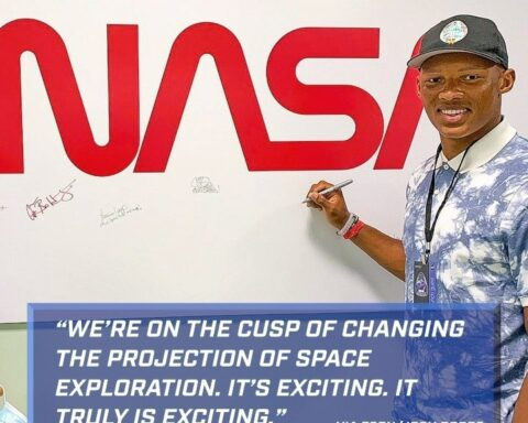 worked with NASA engineers as a part of his  externship. He can't wait to see t...