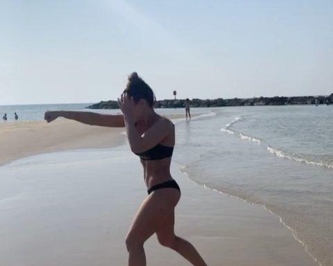 Beach ninja ...