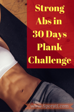 Strong Abs 30 Days Plank Challenge