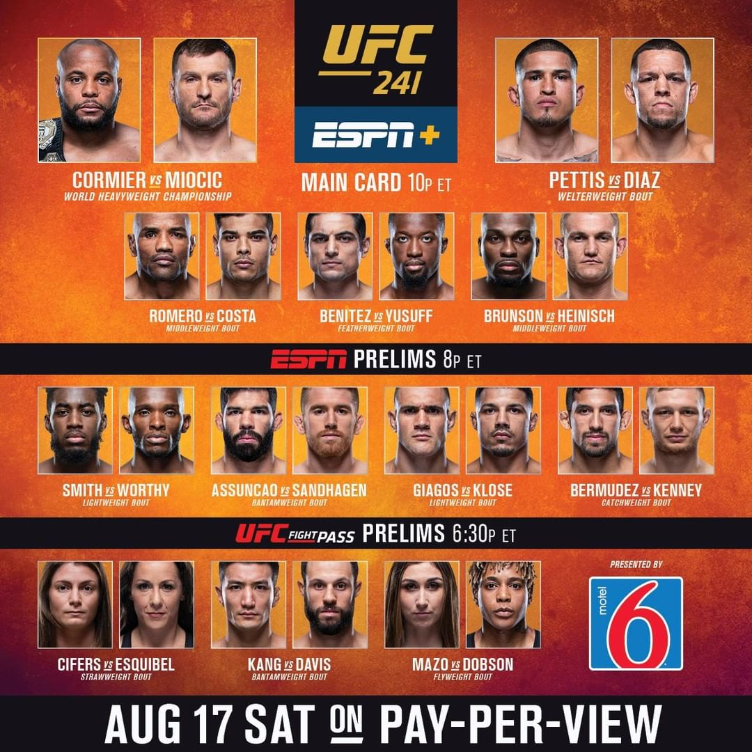 It's FIGHT DAY  is LIVE tonight on ESPN+ PPV  LINK IN BIO (...