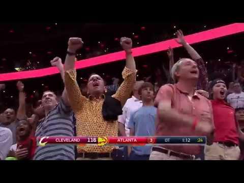 Best of Atlanta's HUGE Comeback vs  Cavs   Down 26pts to Start the 4th Quarter