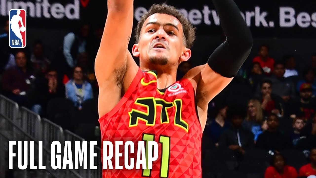 GRIZZLIES vs HAWKS | Atlanta's Young Core Shines Against Memphis | March 13, 2019
