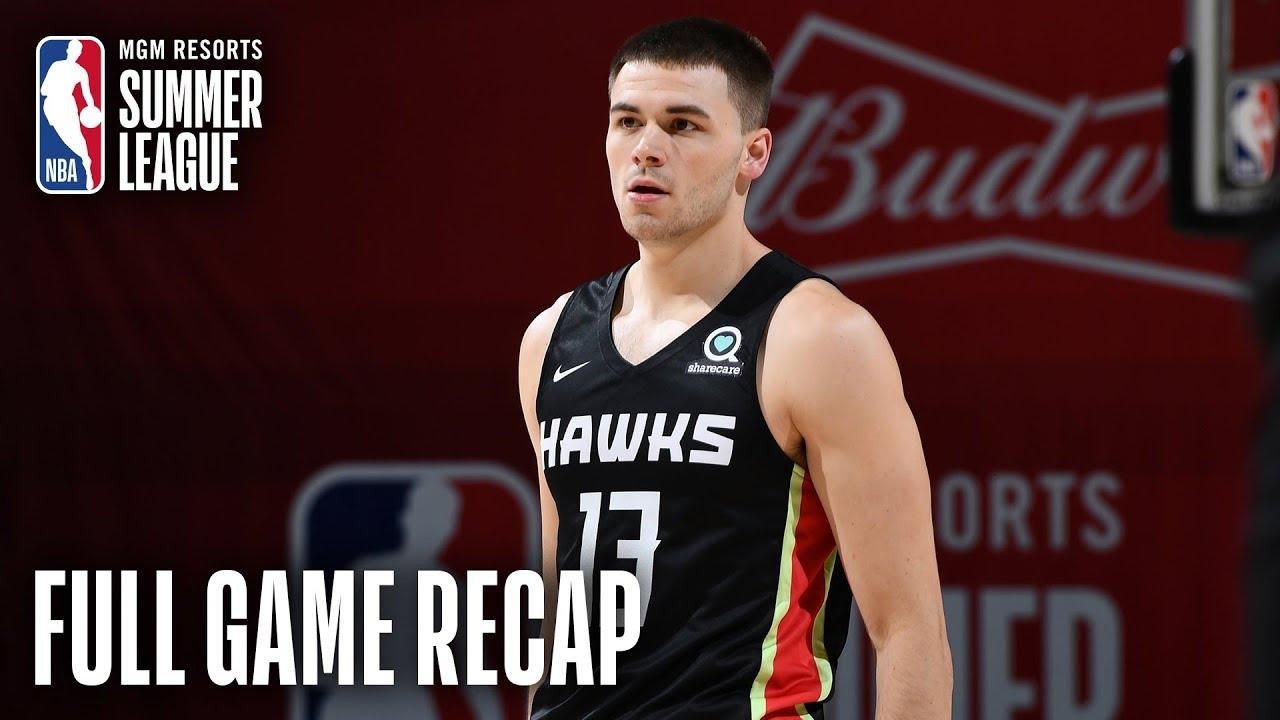 HAWKS vs SPURS | Atlanta Grabs Win to Close Out Summer | MGM Resorts NBA Summer League