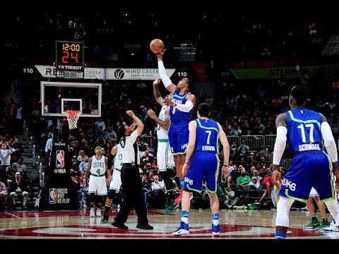 Isaiah Thomas Drops 35 Points Paul Millsap Counters with 26 In Atlanta! | April 6, 2017