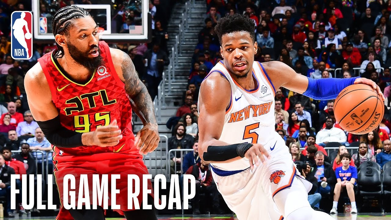 KNICKS vs HAWKS | Dennis Smith Jr. Leads NYK In Atlanta | February 14, 2019