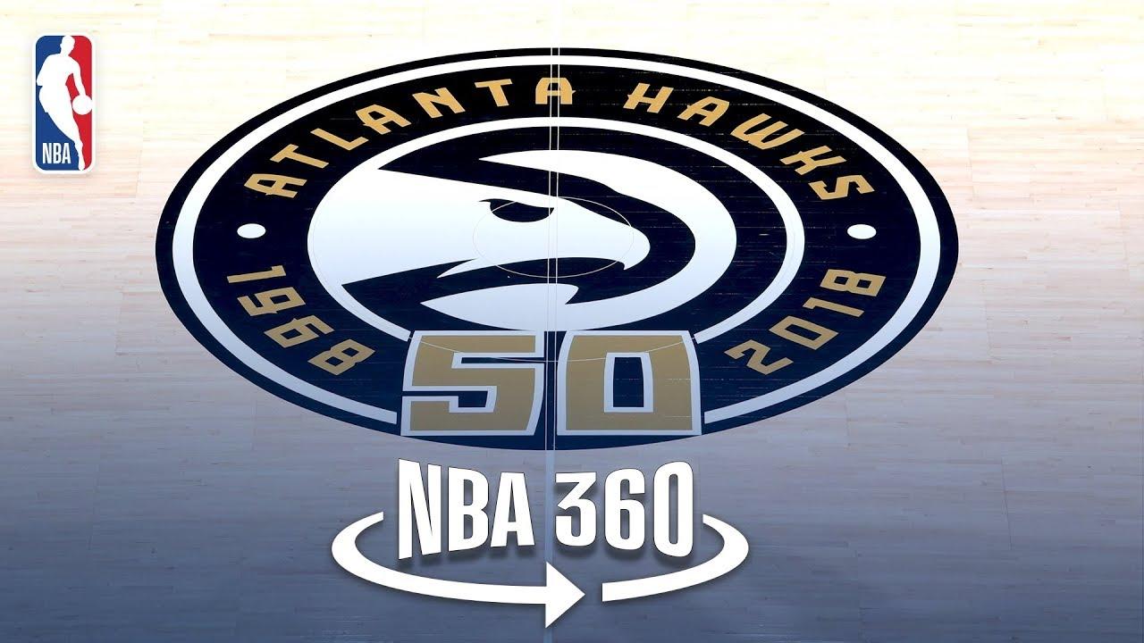 NBA 360   Grant Hill Tours the Hawks New Nest
