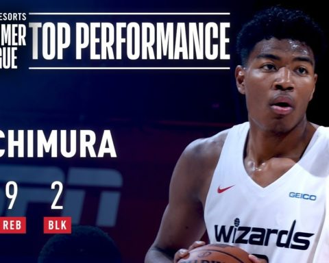 Rui Hachimura Turns In Big Performance VS Atlanta | July 11, 2019