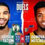 Tatum & Mitchell Duel In Utah!