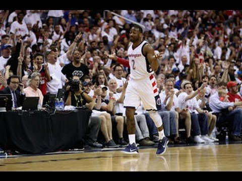 The Best From John Wall's Historic Game 1 vs. Atlanta: April 16, 2017