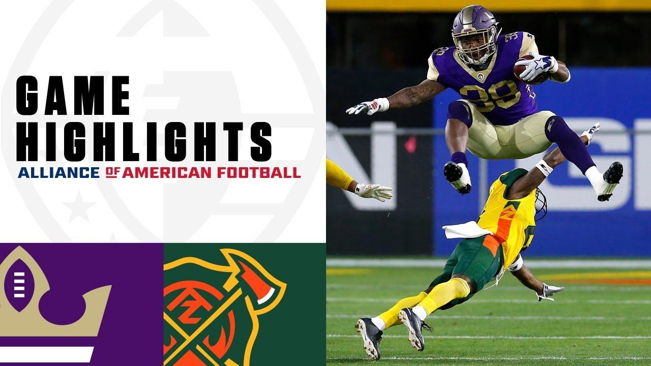 Atlanta Legends vs. Arizona Hotshots | AAF Week 4 Game Highlights