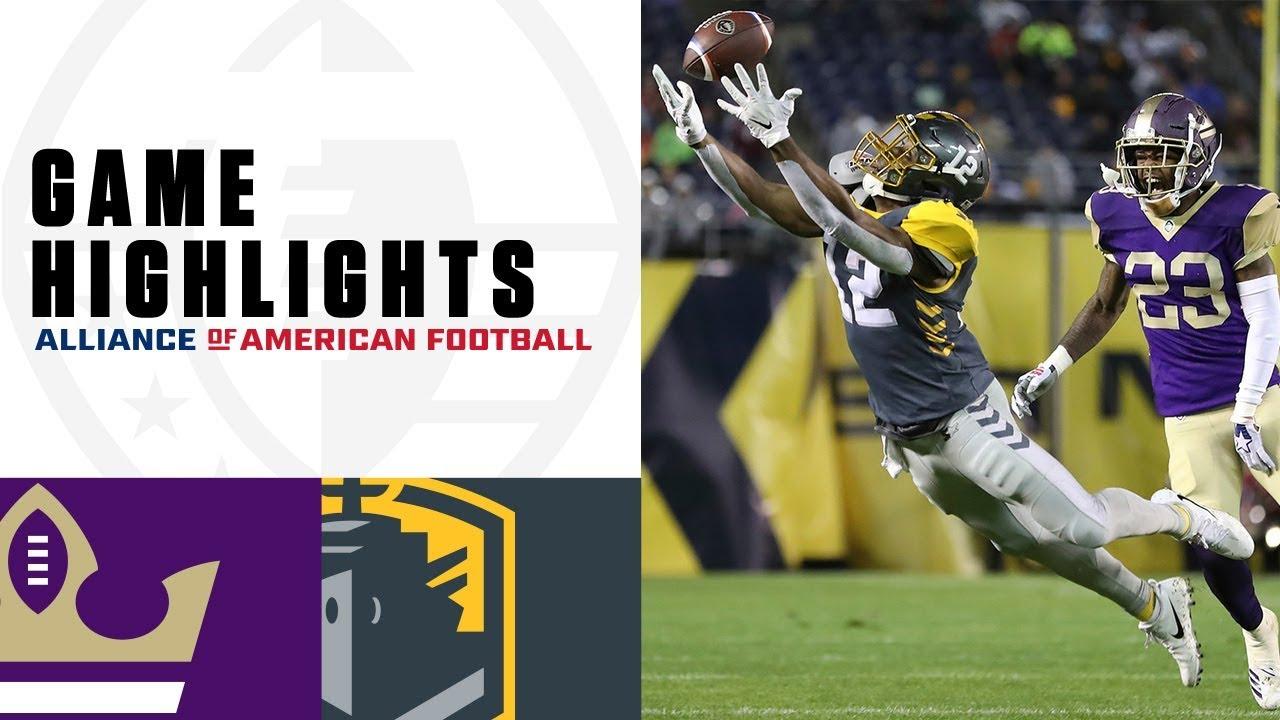 Atlanta Legends vs. San Diego Fleet | AAF Week 2 Game Highlights