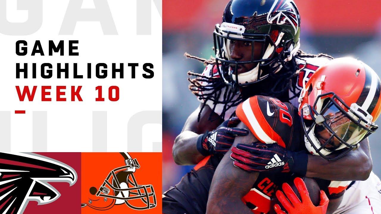 Falcons vs. Browns Week 10 Highlights   NFL 2018