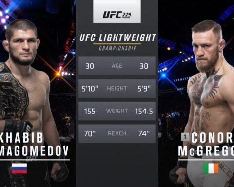 Free Fight: Khabib Nurmagomedov vs Conor McGregor   UFC 229, 2018