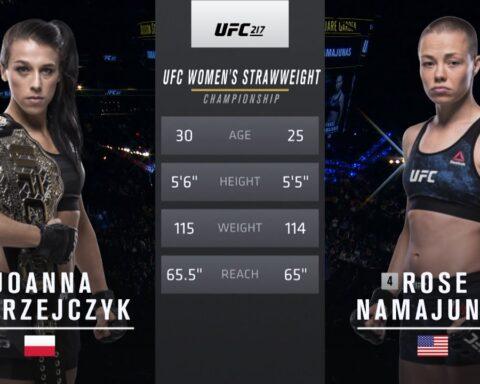 Free Fight: Rose Namajunas vs Joanna Jedrzejczyk 1 | UFC 217, 2017