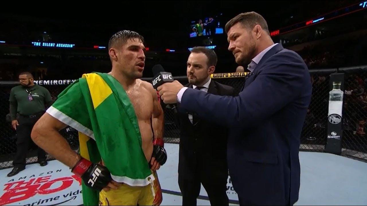 UFC Uruguay: Vicente Luque Octagon Interview