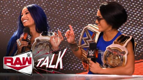 The Boss & Bayley on both becoming double champions: Raw Talk, June 29, 2020 (WWE Network Exclusive)