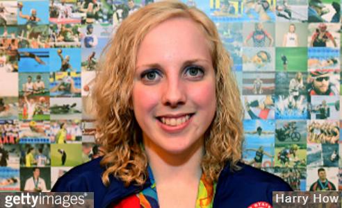 Ginny Trasher Wins Rio 1st Gold