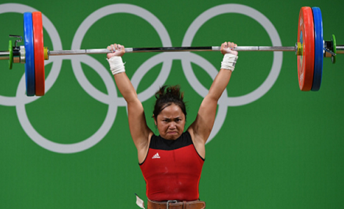 Hidilyn Diaz Wins Olympic Silver Medal Rio 2016 Weightlifting for Philippines