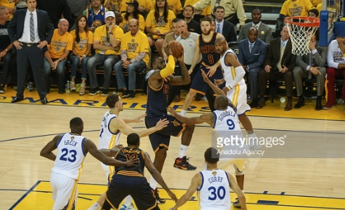 Golden State Warriorsvs Cleveland Cavaliers NBA Finals 2016