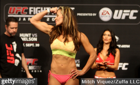 Hottest MMA Female Fighters - Miesha Tate