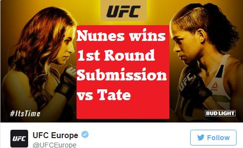 UFC 200 - Miesha Tate vs Amanda Nunes -  Bantamweight Title