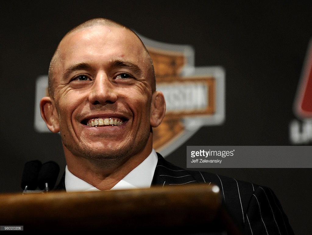 Georges St Pierre UFC