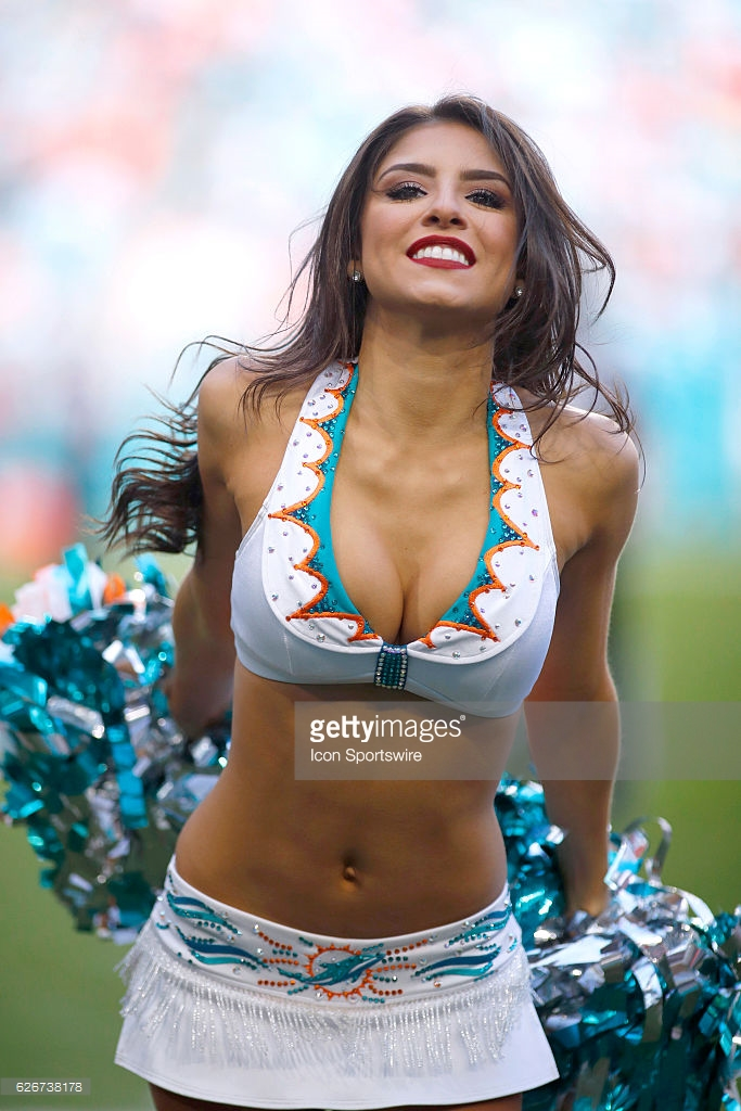 NFL Cheerleaders Miami Dolphins