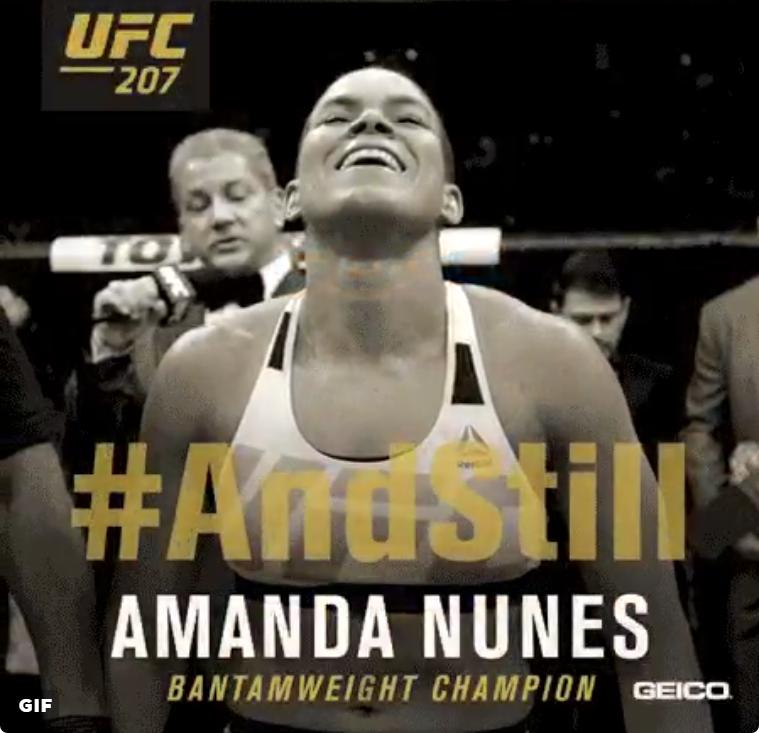 UFC 207 Nunes vs Rousey