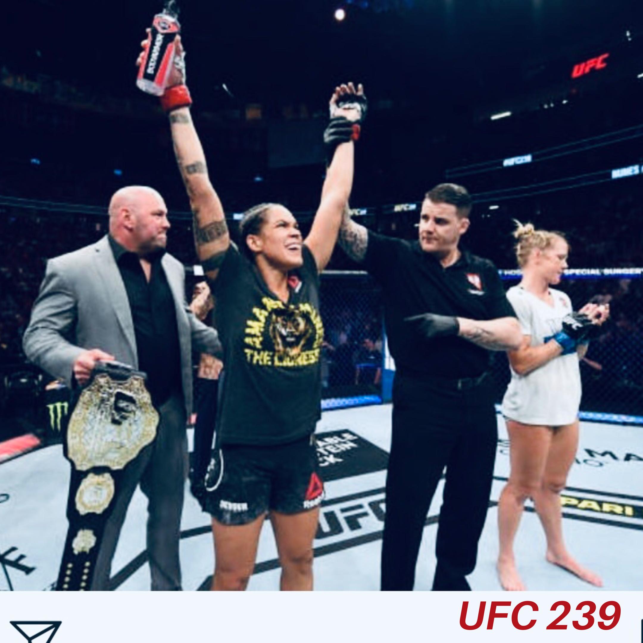 Amanda Nunes Knocks Out Holly Holm in UFC 239 | Sports, NBA